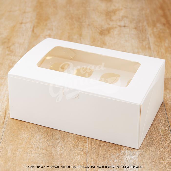 코지다용도박스(머핀박스겸용/6구) no.5258 - 브레드가든, 1,620원, DIY재료, 토핑/데코