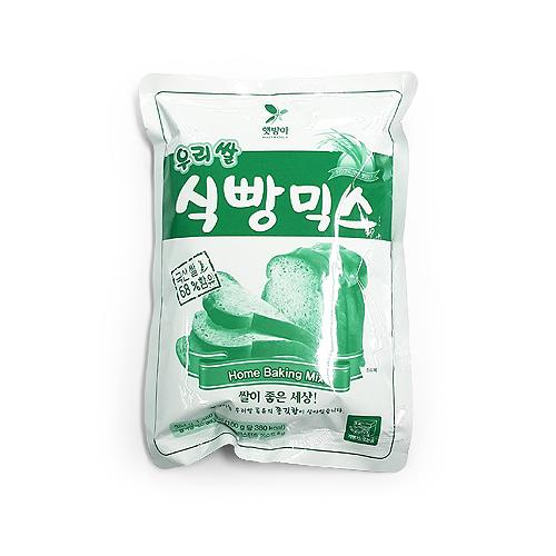 [햇방아]쌀식빵믹스(백미/384g)no.2598 - 브레드가든, 3,690원, DIY재료, 믹스